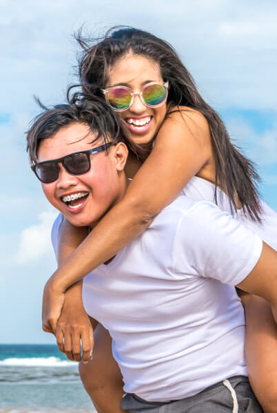 happy marriages- happy couple