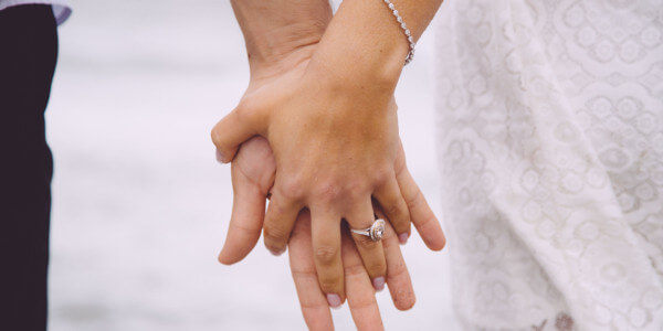 how to save your marriage - closeup of hands being held