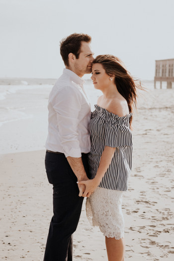 ground rules marriage - couple holding each other at beach